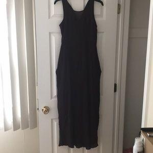 NWOT Madewell Maroon Maxi Dress